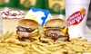 Quickee Burgers - Paradise: Three Groupons, Each Good for One Combo Meal at Quickee Burgers (Up to 40% Off)