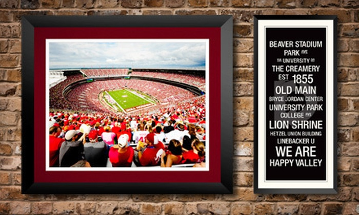 Replay Photos: $39 for $80 Worth of Collegiate and Pro-Sports Wall Art from Replay Photos