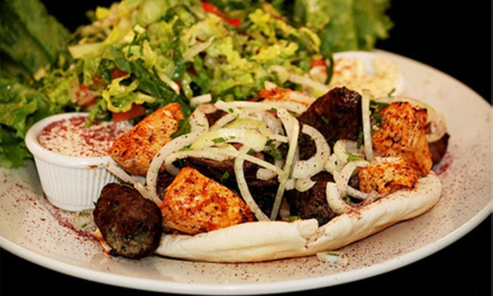 Moe's Middle Eastern Grill - Lower East Side: Middle Eastern Dinner for Two or Four at Moe's Middle Eastern Grill (Up to 55% Off)