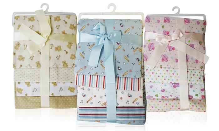 4-Pack of Printed Receiving Blankets: 4-Pack of Printed Receiving Blankets. Multiple Prints Available. Free Returns.