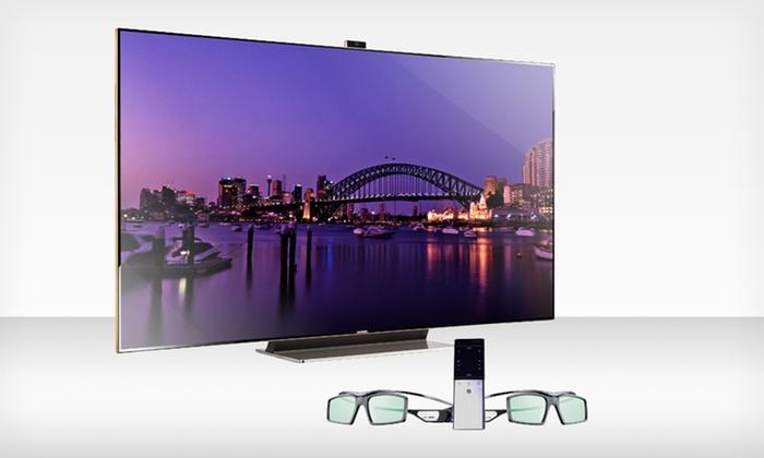 """Samsung 75"""" 1080p 3D LED Smart TV (UN75ES9000): $5,599.99 for a Samsung 75"""" 1080p 3D LED Smart TV (UN75ES9000) ($9,999.99 List Price). Free Shipping."""