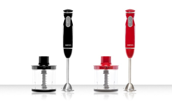 Single Blade Hand Food Mixer ~ Chefman speed hand blender groupon goods