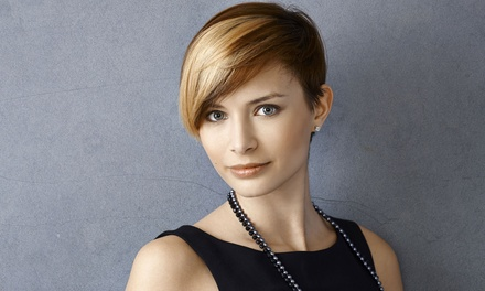 Haircut with Optional Partial or Full Highlights from Samantha Randa at Smokin Hot Hair (Up to 76% Off)