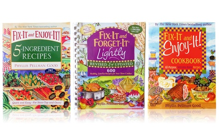 Fix-It and Forget-It or Fix-It and Enjoy-It Cookbooks