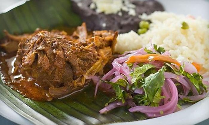 Sazon - Travis Heights,Zilker: $15 Worth of Mexican Food