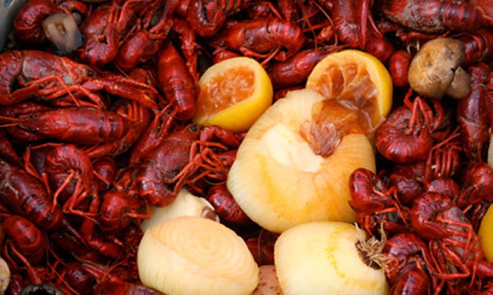 Crawfish King - City Centre: Cajun Dinner with Gumbo, Seafood, and Beignets for Two or Four at Crawfish King (51% Off)