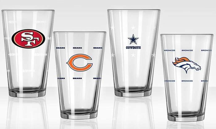 2-Pack of NFL Color-Changing Pints: 2-Pack of NFL Color-Changing Pints. Multiple Teams Available. Free Shipping and Returns.