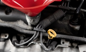S & F Automotive: One or Three Oil Changes, Tire Rotations and Safety Inspections at S & F Automotive (Up to 54% Off)