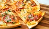 Gitto's Pizza - Central Business District: Two Groupons, Each Good for $9 Worth of Italian Food, or Two Large Pizzas With Cookies at Gitto's Pizza (44% Off)
