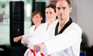 Brown's TKD Institute: Week of Unlimited Martial Arts Classes and Uniform or Month of Classes at Brown's TKD Institute (Up to 69% Off)