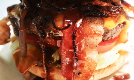 Dine-In or To-Go Burgers and Drinks for Two or Four at Baja Cafe (Up to 45% Off)
