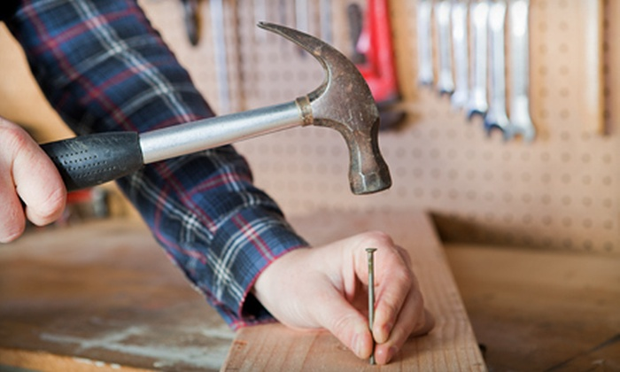 All Wall Concepts - Pinnacle Point Neighborhood Association: 2, 6, or 10 Hours of Handyman Services from All Wall Concepts (Up to 74% Off)