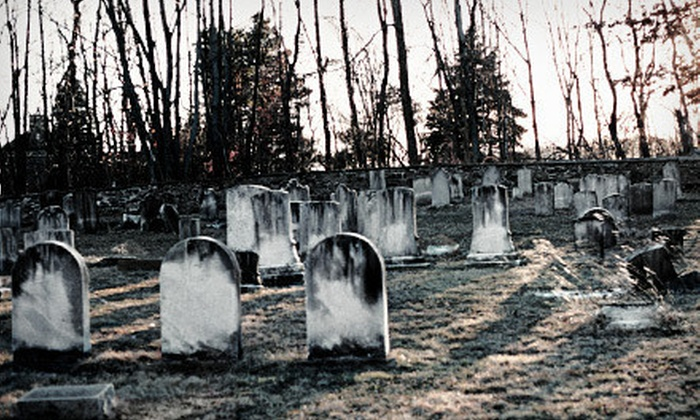 AxWild Tours - Williamsburg: Ghost Tour for Two or Four from AxWild Tours in Williamsburg (Up to 53% Off)