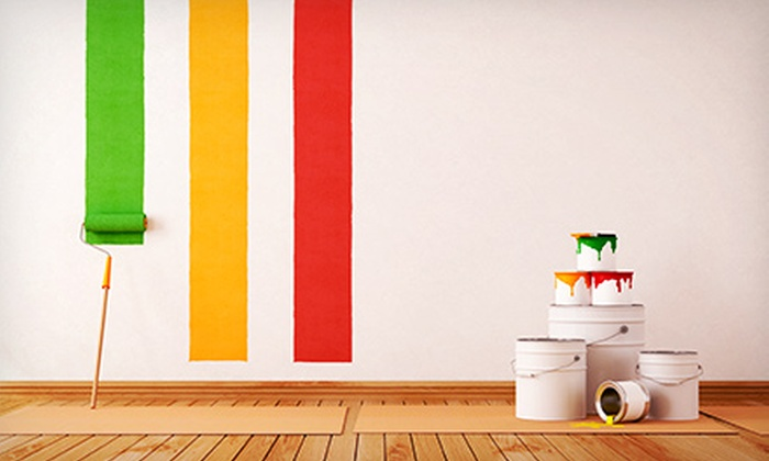 Music City Painting - Eastwood: Interior Painting for One or Two Rooms from Music City Painting (Up to 62% Off)