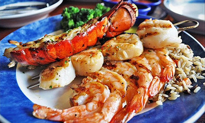 Alligator Grille - Hilton Head Island: $15 for $30 Worth of Seafood, Steak, and Sushi at Alligator Grille