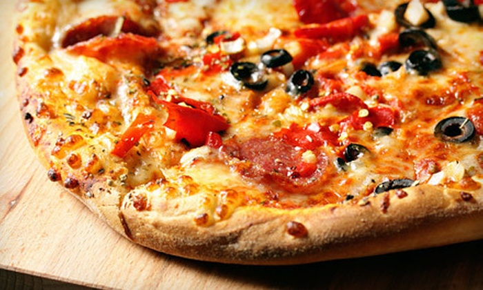 Greek's Pizzeria - Muncie: $10 for $20 Worth of Neapolitan Pizza, Sandwiches, and Drinks at Greek's Pizzeria in Muncie