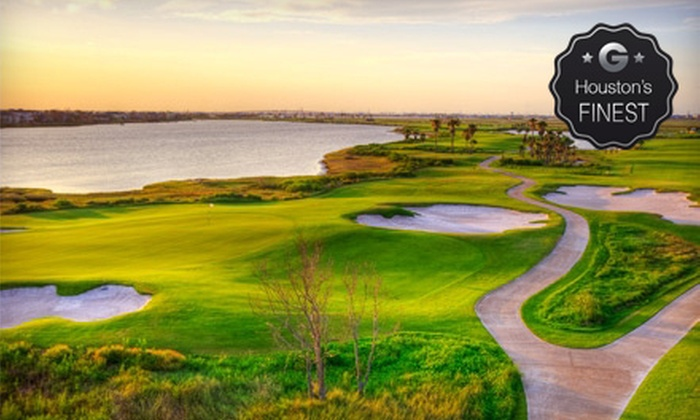 Moody Gardens Golf Course - Galveston: Round of Golf with Cart Rental and Range Balls for One, Two, or Four at Moody Gardens Golf Course (Up to 77% Off)