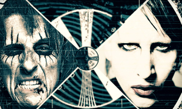 Masters of Madness: Alice Cooper & Marilyn Manson - Family Arena: Masters of Madness: Alice Cooper & Marilyn Manson at Family Arena on June 25 at 7 p.m. (Up to 51% Off)