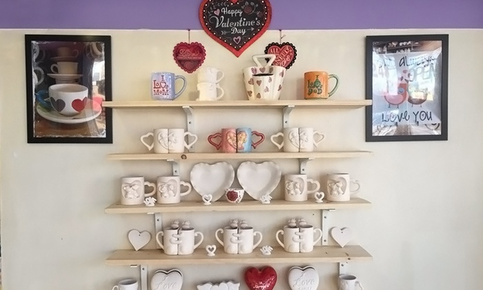 Make Me Take Me, Inc - Highland Park: Paint-Your-Own Pottery for Children or Adults at Make Me Take Me, Inc (Up to 52% Off). Four Options Available.