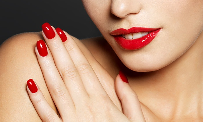 Analisa Rudolph at Vintage Salon and Day Spa - Spokane Valley: One, Two, or Three Shellac Manicures with Analisa Rudolph at Vintage Salon and Day Spa (50% Off)