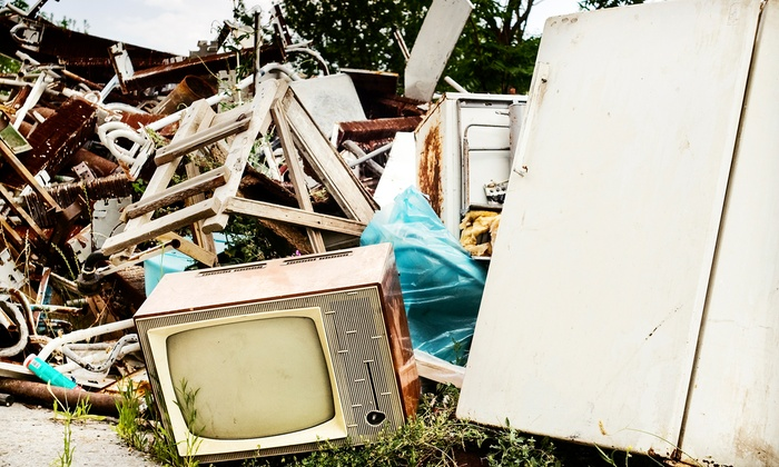 Cohesion Hauling - Teravista: $99 for Three Cubic-Yards of Household Junk Removal from Cohesion Hauling ($200 Value)