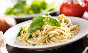 Two Brothers from Italy Ristorante & Pizzeria: $11 for $20 Worth of Italian Fare for Dinner at Two Brothers from Italy Ristorante & Pizzeria