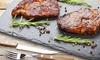 ⏰Menu di carne argentina con vino