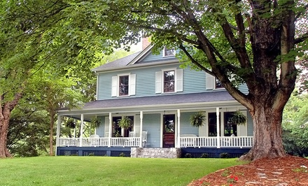 Groupon Deal: Gift a 1-Night Stay for Two at Herren House Bed and Breakfast or Twin Maples Farmhouse Historic Inn in Waynesville, NC