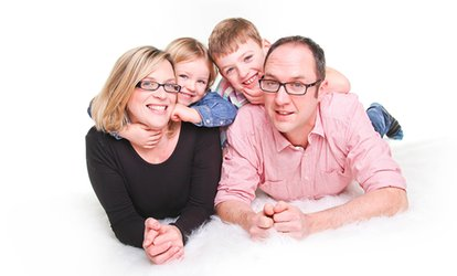 image for Family Photoshoot With Three Prints for £9 at J.Photographers North East