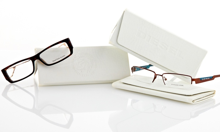 Diesel Optical Frames for Men and Women: $29.99 for Diesel Optical Frames (Up to $278 List Price). 11 Options Available. Free Shipping and Returns.