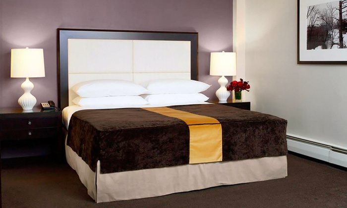 The Andrew Hotel - Great Neck Plaza: One-Night Stay at The Andrew Hotel on Long Island. Three Options Available.