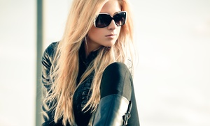 Loyal.T Salon: Haircut and Optional Color, Partial Highlights, or Brazilian Blowout at Loyal.T Salon (Up to 73% Off)