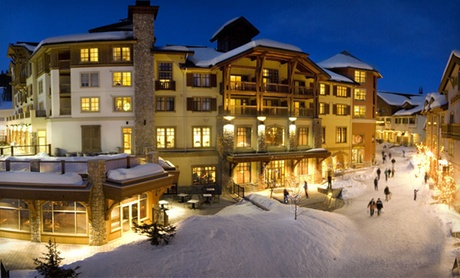 Four-Star Ski Resort at Sun Peaks, BC