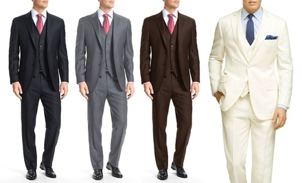 Braveman Men's 3-Piece Suit