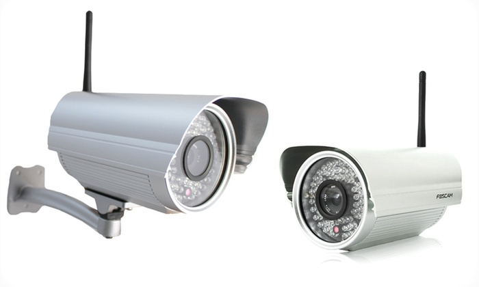 Foscam Outdoor IP Camera (FI8906W): Foscam Outdoor IP Camera (FI8906W). Multiple Options from $79.99–$89.99. Free Shipping.