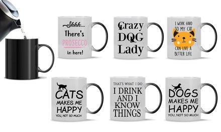 Novelty Print Magic Mugs