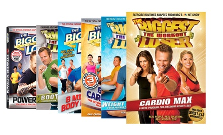 The Biggest Loser Workout DVDs. Multiple Titles Available. Free Returns.