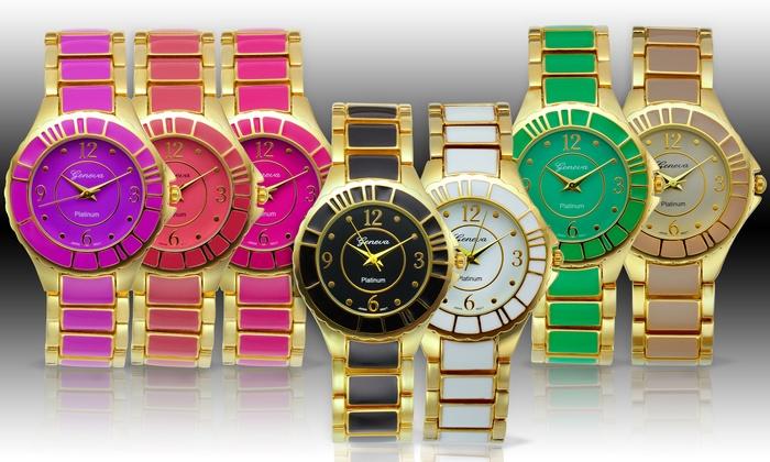 Geneva Platinum Women's Fashion Watch: Geneva Platinum Women's Fashion Watch