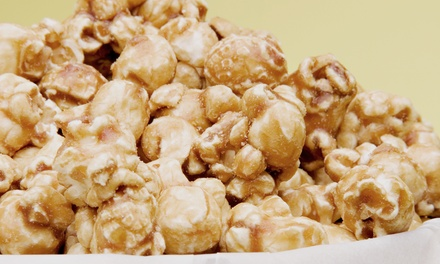 $5 for $10 Worth of Popcorn Treats at Knights Gourmet Popcorn