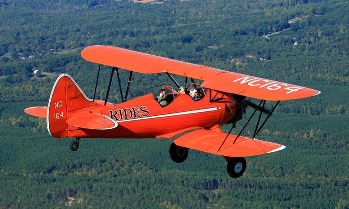 Bi-Plane Adventures, Inc. - Kennesaw: $89 for 20-Minute Bi-Plane Flight from Bi-Plane Adventures, Inc. ($178.20 Value)