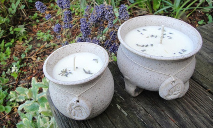 Crow's Nest Primitive Shoppe: Handmade Pottery, Candles, and Other Gifts from Crow's Nest Primitive Shoppe (Up to 58% Off). Two Options Available.