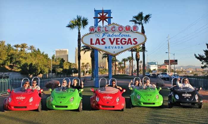 Scoot City Tours - Las Vegas: $125 for a Scooter Tour for Two of Downtown and the Strip from Scoot City Tours ($250 Value)