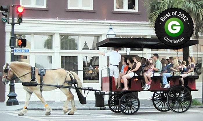 Olde Towne Carriage Company - Downtown: $25 for a Carriage Romance Event for Two from Olde Towne Carriage Company ($50 Value)