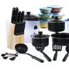 Cookware and Cutlery Starter Set (102-Piece)