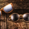 Earth Wood Whitehaven and Maho Unisex Sunglasses