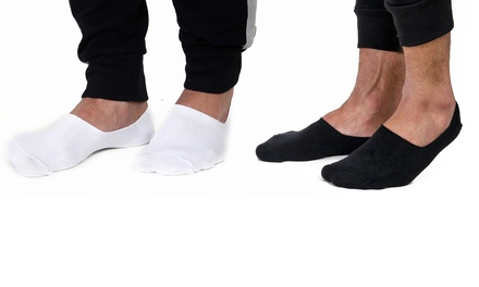 12Pack Men's Invisible Socks