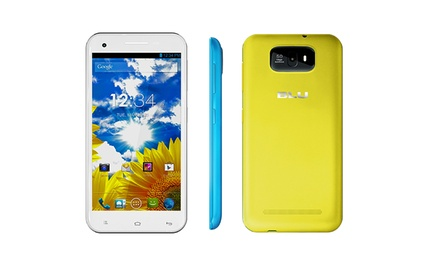 BLU Studio 5.5 Dual-SIM Android Smartphone with 4GB (GSM Unlocked)