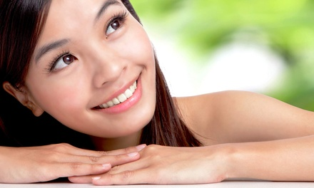 Facial Treatments at Pure Medical Spa and Triangle Injectables (Up to 77% Off). Three Options Available.