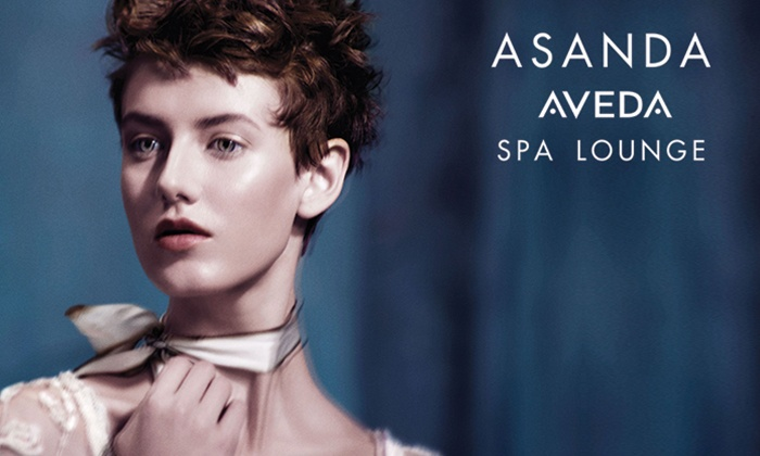 Asanda Aveda Spa Lounge - Asanda Spa Lounge: Aveda Haircare Package at Asanda Aveda Spa Lounge (Up to 53% Off). Three Options Available.