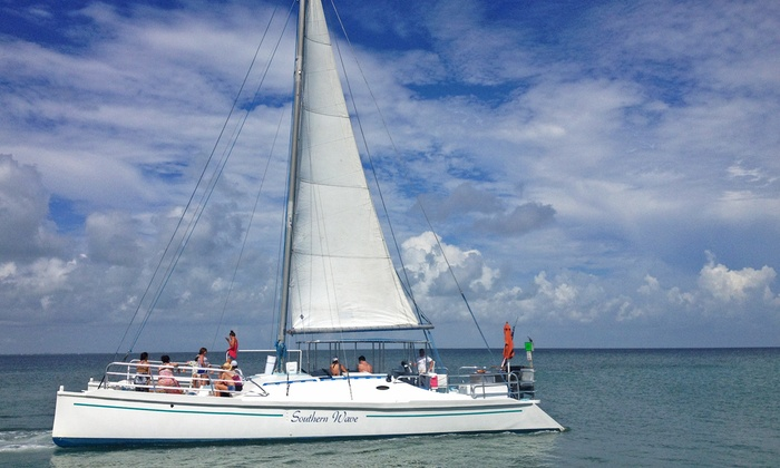 Southern Wave Sailing Charters - SPI Water Sports: Two-Hour South Padre Island Dinner Cruise for Two or Four from Southern Wave Sailing Charters (Up to 28% Off)